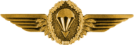 Parachutist Badge, Gold (Germany)