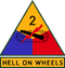 2nd Armored Division (detached tab)