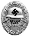 Wound Badge, 1944 (silver)