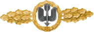 Long Range Day Fighter Clasp, Gold (Luftwaffe)