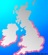 Baleric Shearwater Map