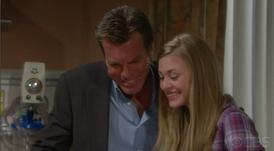 Abby and Jack meet little Faith