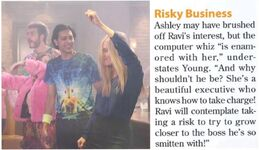 Ashley Ravi risk
