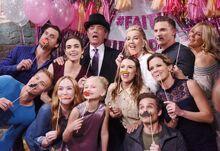 Faith's Birthday Party Group Shot