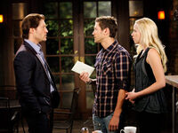 Deacon blackmails daniel and amber