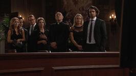 Chloe's faux funeral