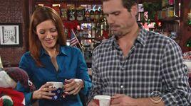 Sandy & Nick get coffee