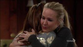 Sharon and Mariah reconcile