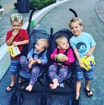 Reese & Kennedy Staib with Holden & Ryan Hare (Katherine & Johnny)