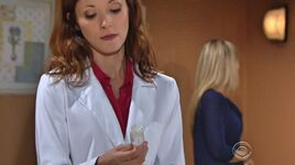 Dr Anderson treats Sharon