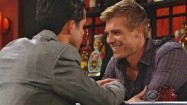 Travis laughs Luca