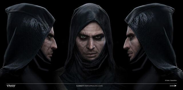 File:Thief Game Concept Art SteamBot 12 Garrett Face Front.jpg