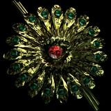 Flowers Eternal - Hydrangea Brooch