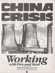 Working with Fire album ad Smash Hits November 1983