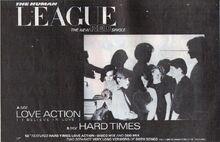 Love Action Hard Times ad Smash Hits Aug 1981