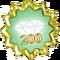 Badge - 200 Wiki Life