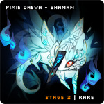 Pixiedaeva shaman