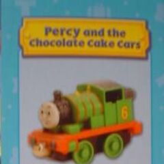 Percy and the chocolate cake cars