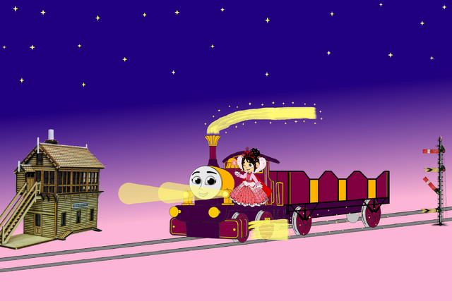 File:Lady and Vanellope travel through the Night.png