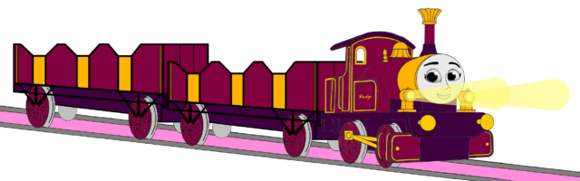 File:Lady with her Double Open-Topped Carriage & Shining Gold Lamps.png