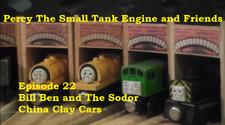 22. Bill Ben and The Sodor China Clay Cars