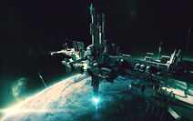 The magi space port by bradwright-d33fe4m