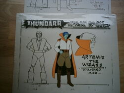 Artemis Model Sheet