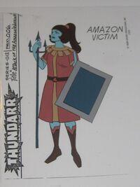 Amazon Victim 2 Model Sheet