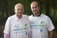 Gerry Anderson and his son Gerry Anderson Jr