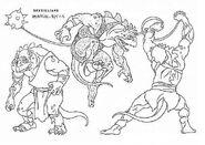Original Concept Art - Reptillians - 001