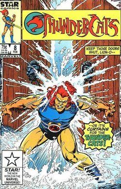 Thundercat comic US 8
