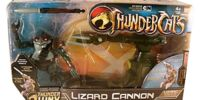 Bandai Lizard Cannon with Lizard