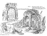 Original Concept Art - Castle Plun-Dare - Dungeon - 001