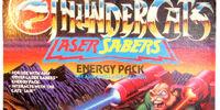 LJN Orange Laser Saber