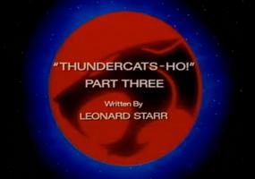 Thundercats Ho - Part III - Title Card