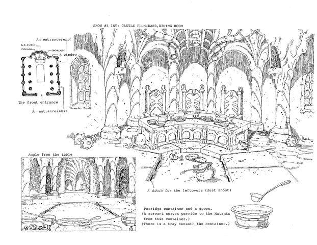 File:Original Concept Art - Castle Plun-Darr - Dinning Room - 001.jpg