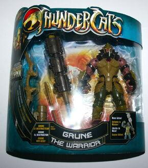 Bandai ThunderCats Grune Deluxe Action Figure Boxed - 01