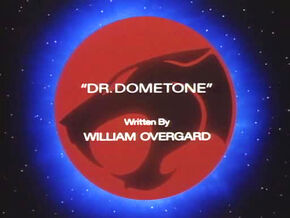 Dr Dometone Title Card