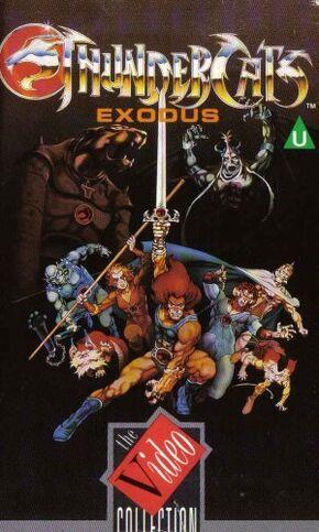 Exodus VHS UK