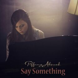 Say something, cover