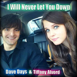 I will never let you down cover