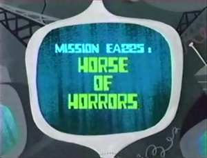 Horse of Horrors Titlecard