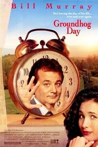 Groundhog Day (movie poster)
