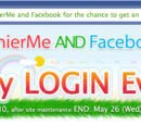 TinierMe and Facebook Daily Login Event