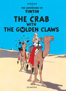 The Crab with the Golden Claws Egmont