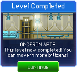 Message Onderon Apts Complete