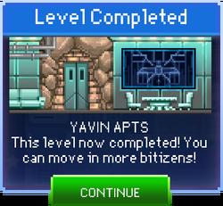 Message Yavin Apts Complete
