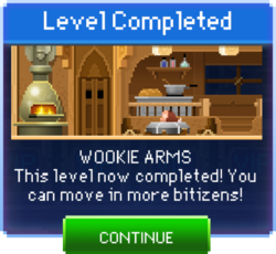 Message Wookie Arms Complete