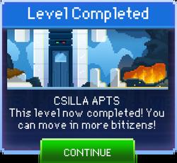 Message Csilla Apts Complete