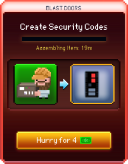Security Codes start